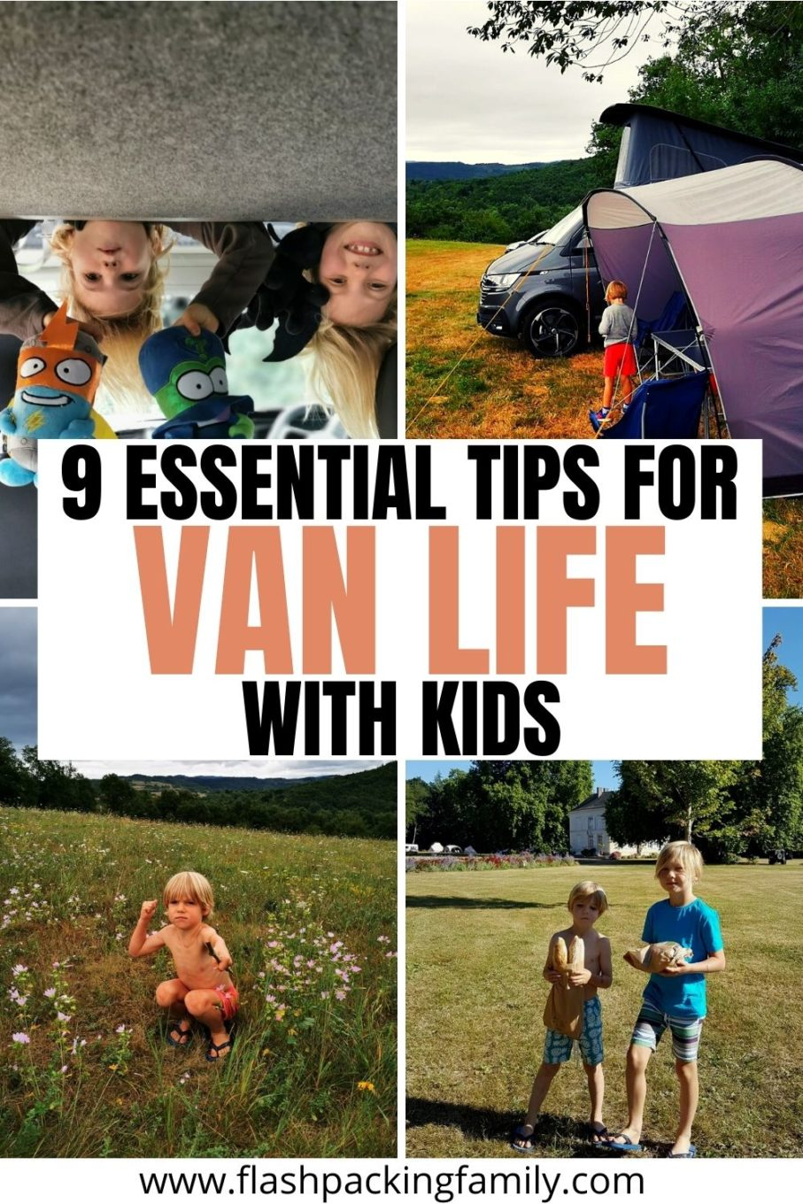 9 Essential tips for Van Life with kids.