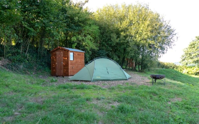 Ensuite facilities at Billingsmoor Farm.
