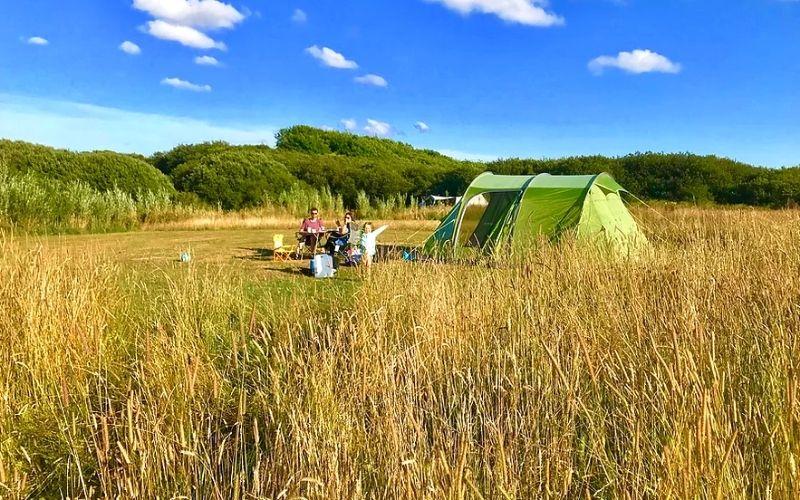Little Haven Campsite in Pembrokeshire.