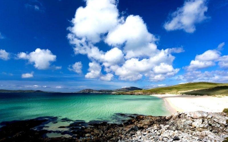 Luskentyre on the Isle of Harris.