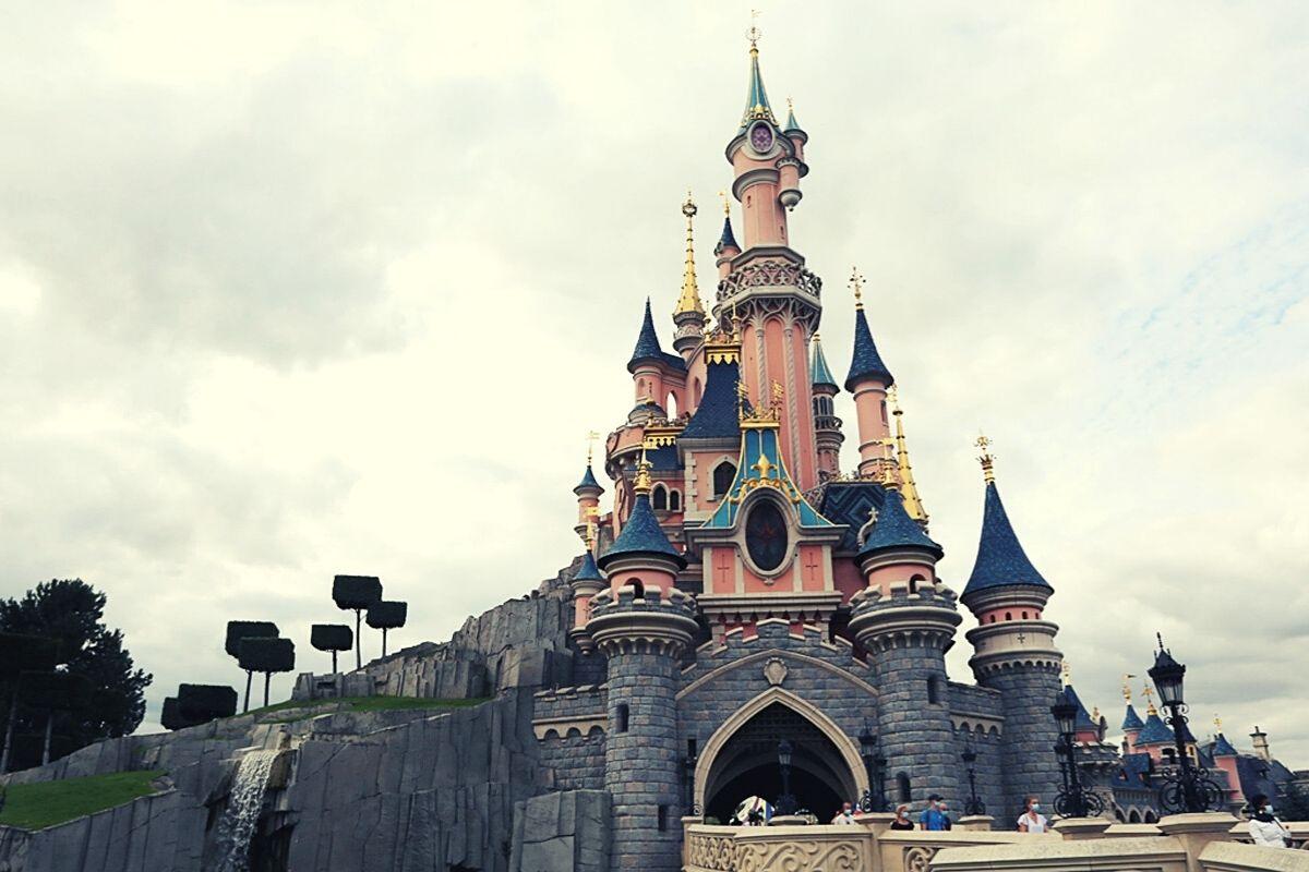Sleeping Beauty Castle at Disneyland Paris.