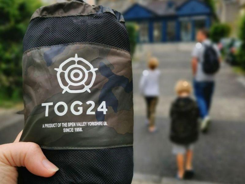 TOG 24 packable waterproof jackets.