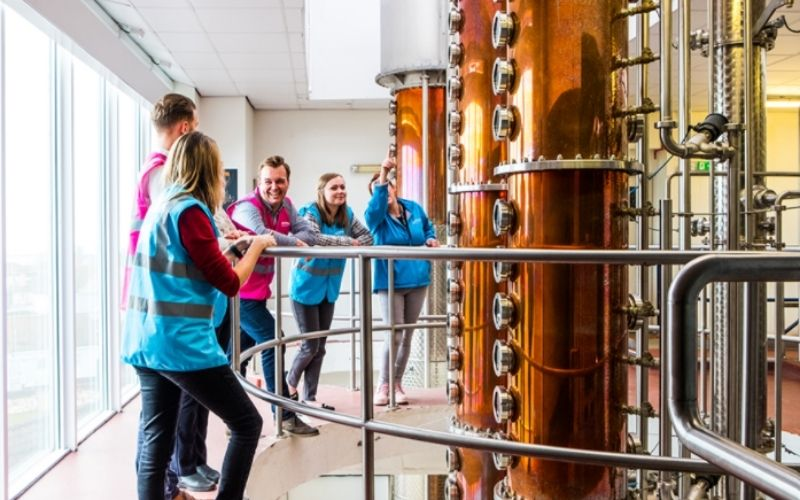 The Adnams Brewery Tour in Southwold