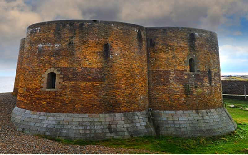 The Martello Tower in Aldeburgh.
