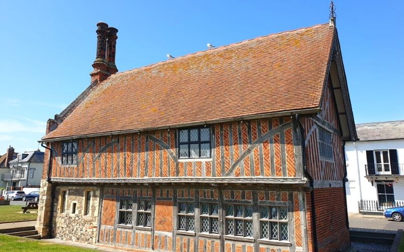 The Moot Hall in Aldeburgh.