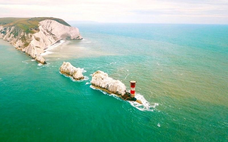 The Needles on the Isle of Wight.