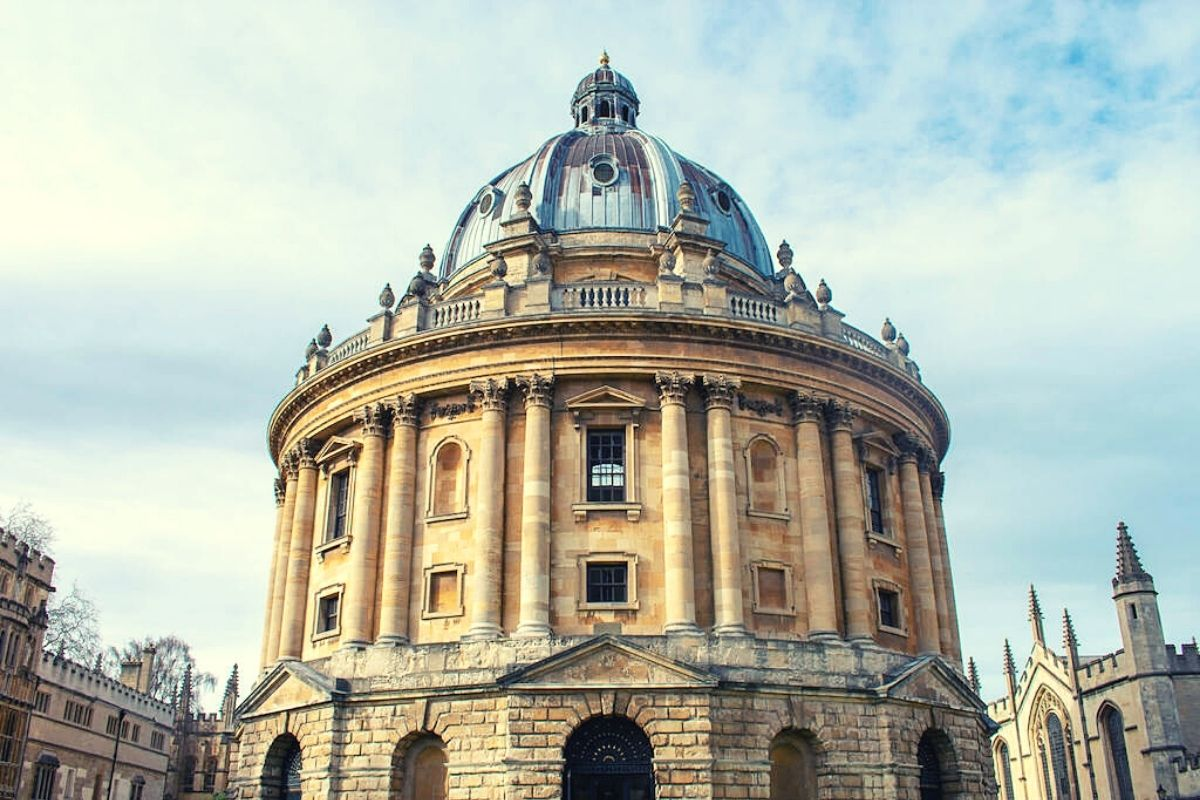 The Radcliffe Camera at Oxford University.