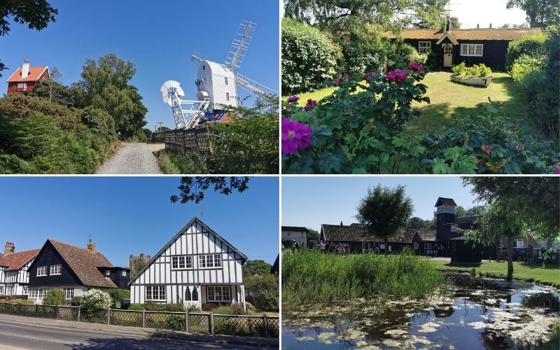The sights of Thorpeness in Suffolk.