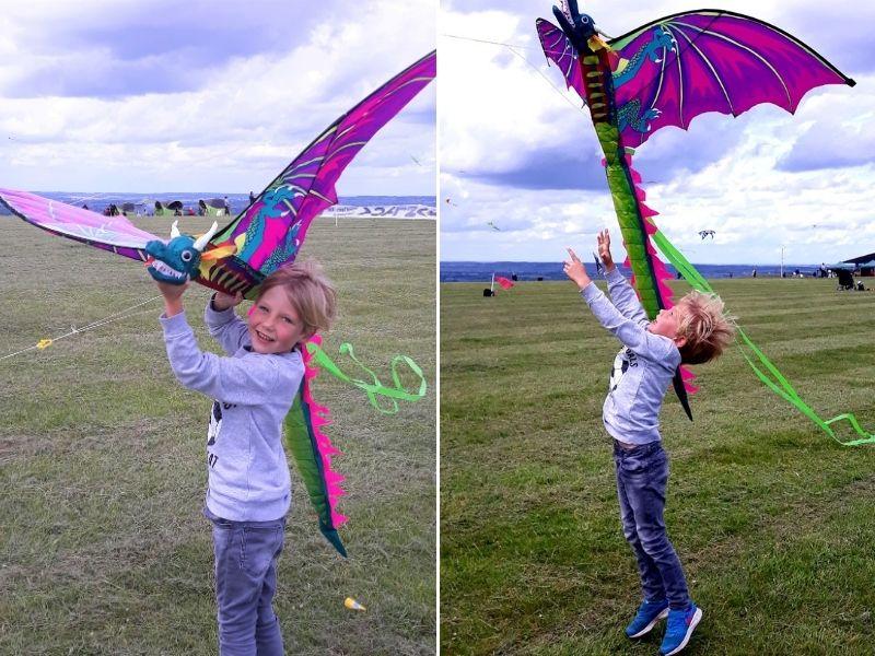 let's go fly a kite in spring.