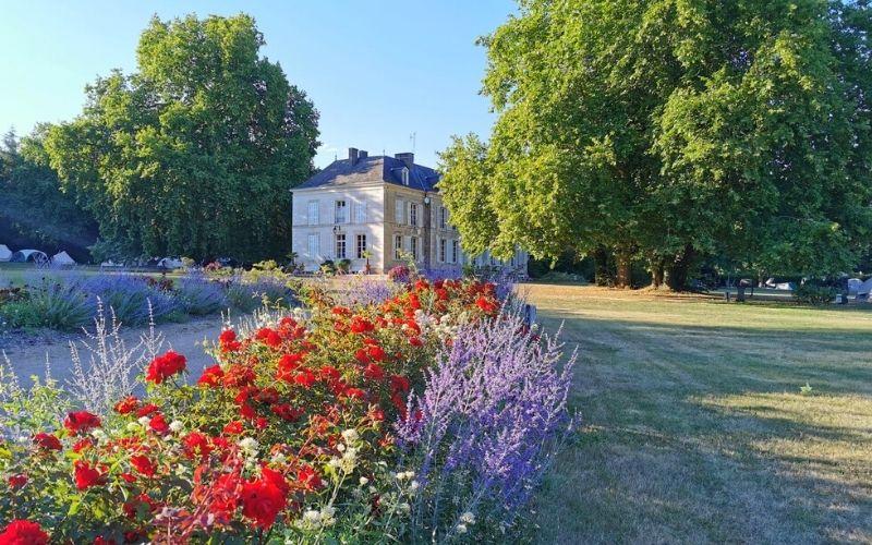 Beautiful grounds of Château de Chanteloup