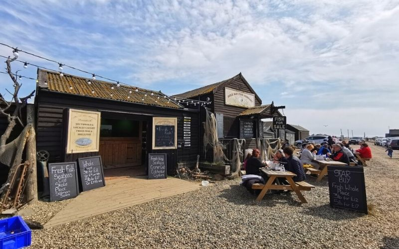 The Sole Bay Fish Company in Southwold.