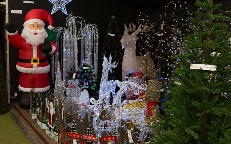 Christmas decorations at The Magic of Christmas