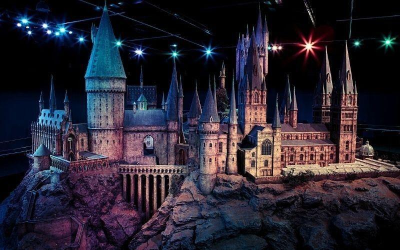 Harry Potter Hogwarts as WB Studios in Hertfordshire.