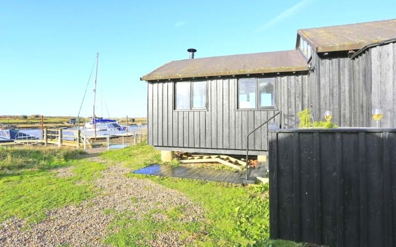 The Old Fisherman's Hut in Southwold