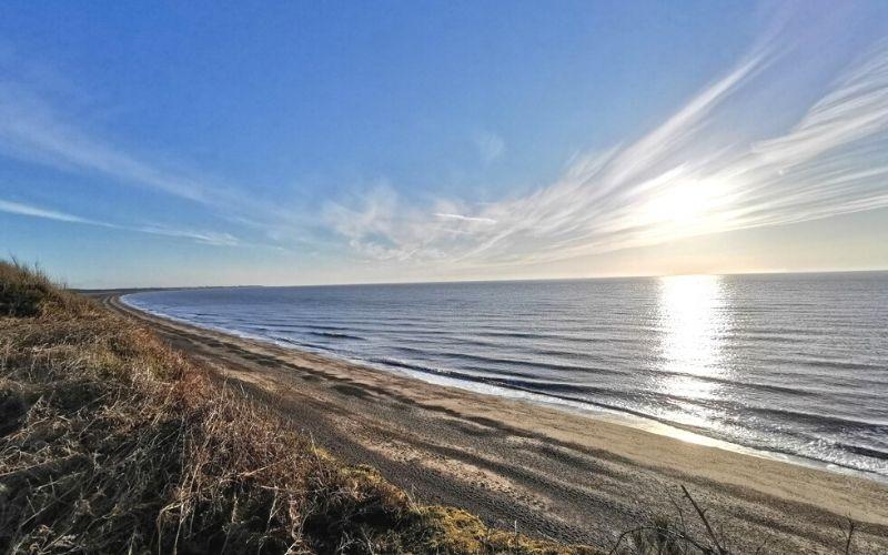 The Suffolk Coast at Dunwich.