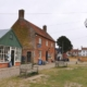 Walberswick village in Suffolk.