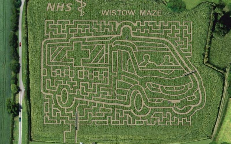 Wistow Maize Maze.