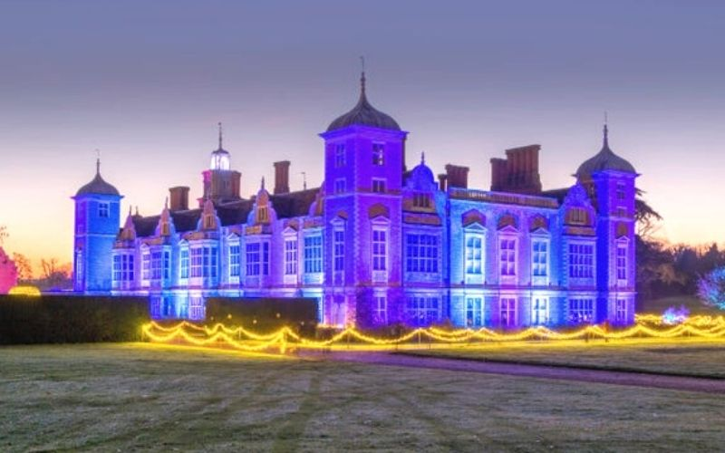 Blickling Hall at Christmas - Photo Credit National Trust