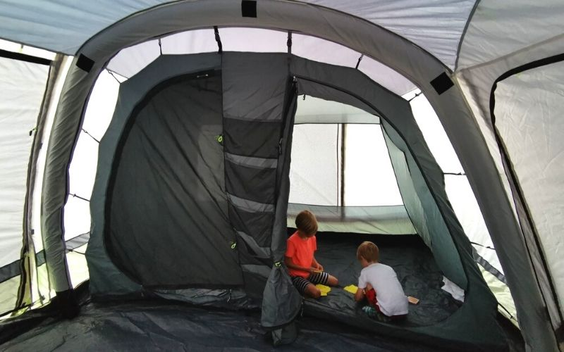 Detachable inner compartment of the Olpro Cocoon Breeze Awning.