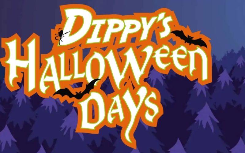 Dippy's Halloween Days at Roarr! Dinosaur, their Halloween event in Norfolk.