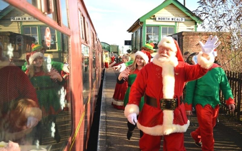 Epping and Ongar Santa Train Ride is one of the best Christmas events in Essex