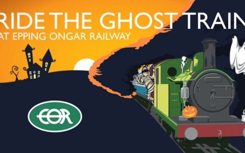 Ghost Train at Epping Ongar Railway.