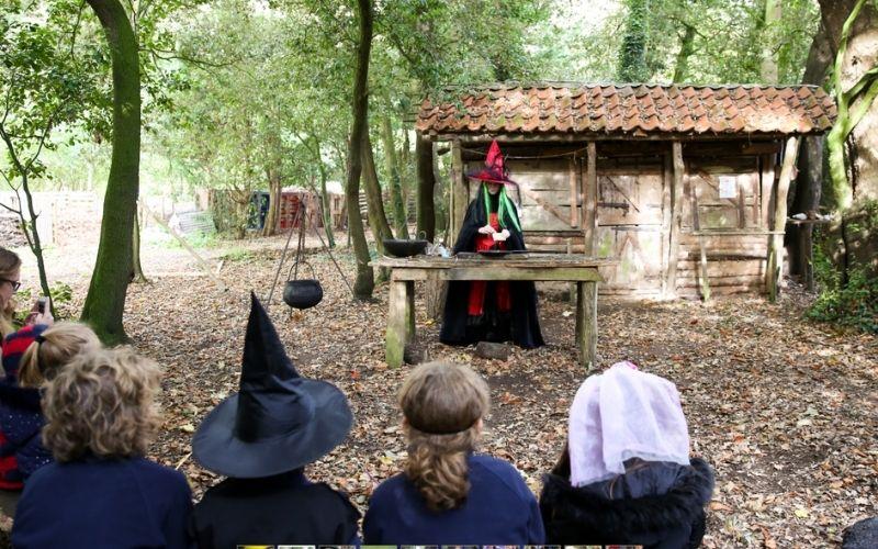 Halloweenies at Kentwell Hall in Suffolk.