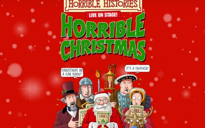 Horrible Histories at IWM Duxford in Cambridgeshire this Christmas.
