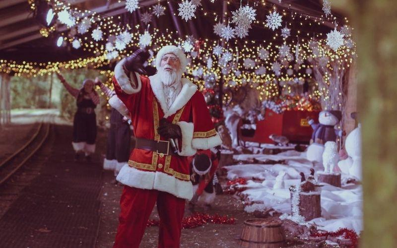 Santa at Audley End.