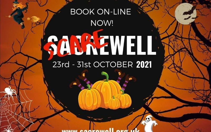 Scarewell at Sacrewell Farm in Cambridgeshire.