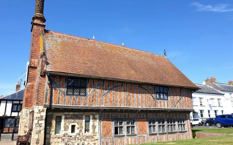 The Aldeburgh Museum Moot Hall.
