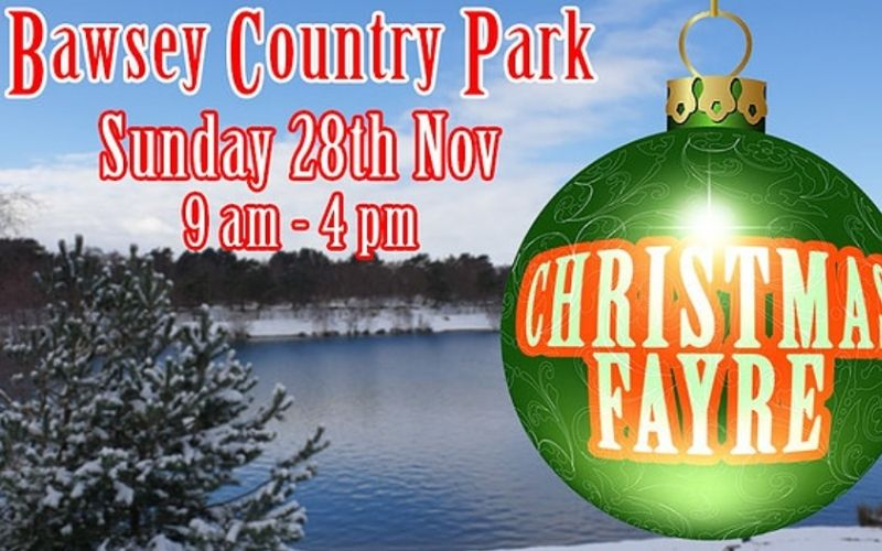 Bawsey Country Park Christmas Fayre.