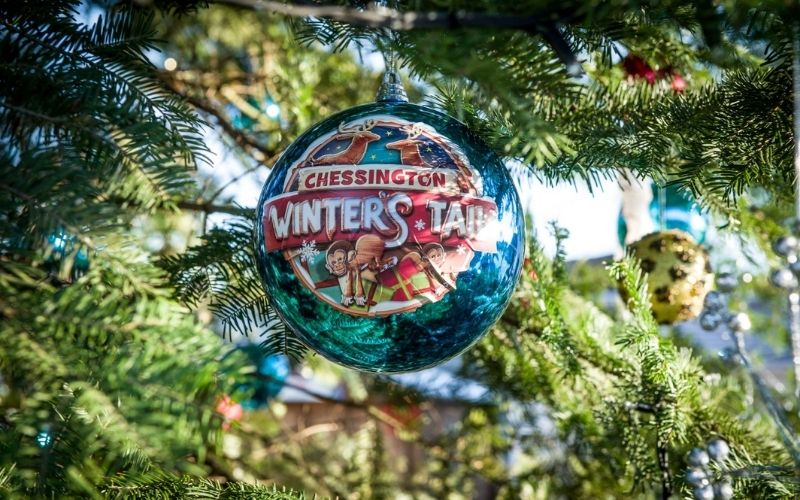 Chessington Winter's Tail Bauble.