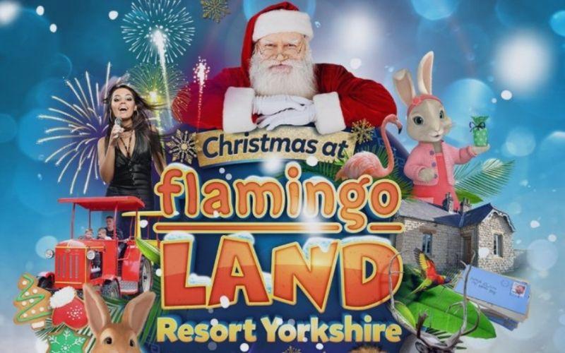 Christmas at Flamingo Land.