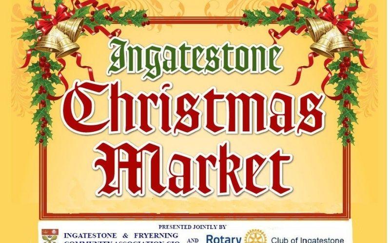 Ingatestone Christmas Market.