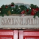 Santa's Grotto sign.