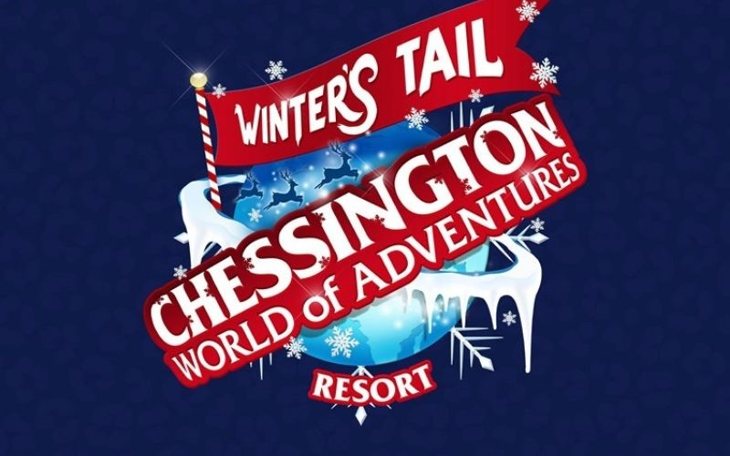 Winter's Tail at Chessington World of Adventures.